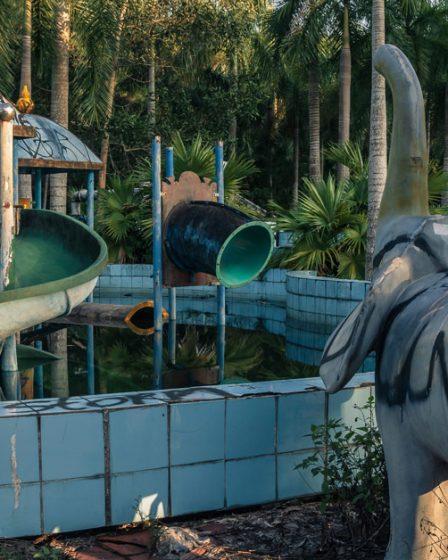Parc aquatique abandonné de Ho Thuy Tien